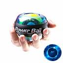 billige Treningsutstyr og tilbehør-Powerball Gyroskopisk spinner Kraft 3 tommer (ca. 7,5 cm) Diameter Gummi LED Essensielt Stresslindring Håndterapi Styrketrener til håndledd Trening & Fitness Treningsøkt Trene Til håndledd hender
