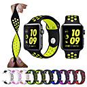 billige iPhone-etuier-Klokkerem til Apple Watch Series 5/4/3/2/1 Apple Sportsrem Silikon Håndleddsrem