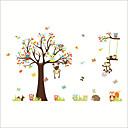 billige Veggklistremerker-Dekorative Mur Klistermærker - Fly vægklistermærker / Animal Wall Stickers Dyr / Blomstret / Botanisk Barnerom