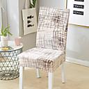 Χαμηλού Κόστους Κάλυμμα καρέκλας-Κάλυμμα καρέκλας Πολύχρωμο Δραστική Εκτύπωση Πολυεστέρας slipcovers