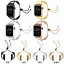 ราคาถูก เคสสำหรับ iPhone-สายนาฬิกา สำหรับ Apple Watch Series 5/4/3/2/1 Apple สายยางสำหรับเส้นกีฬา / หัวกลัดแบบคลาสสิก สแตนเลส สายห้อยข้อมือ