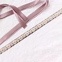 povoljno Party lente-Saten / til Vjenčanje / Special Occasion Pojas S Faux Pearl / Kristali / Rhinestones Žene Pojasi