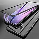 billige Husholdningsapparater-Etui Til Samsung Galaxy Note 9 / Note 8 Gjennomsiktig Heldekkende etui Ensfarget Hard Herdet glass