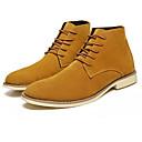 Χαμηλού Κόστους Αντρικές Μπότες-Ανδρικά Fashion Boots PU Φθινόπωρο Καθημερινό Μπότες Αναπνέει Μποτίνια Μαύρο / Σκούρο μπλε / Καφέ