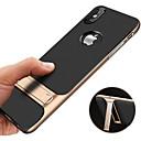 billige Andre telefonsaker-Etui Til Apple iPhone XS / iPhone XR / iPhone XS Max Støtsikker / med stativ / Ultratynn Bakdeksel Ensfarget Hard PC