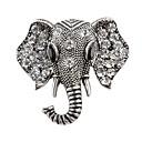 povoljno Značke i broševi-Žene Broševi Klasičan Slon Moda Elegantno Broš Jewelry Zlato Pink Za Spoj Ulica