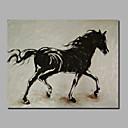 povoljno Slike sa životinjskim motivima-Hang oslikana uljanim bojama Ručno oslikana - Sažetak Klasik Moderna Uključi Unutarnji okvir / Prošireni platno