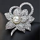 povoljno Značke i broševi-Žene Broševi Klasičan Elegantno Broš Jewelry Pink Za Praznik Festival