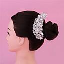 povoljno Party pokrivala za glavu-Kristal Kose za kosu / Alat za kosu s Crystal / Rhinestone 1 komad Vjenčanje / Zabava / večer Glava