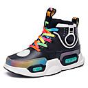 Χαμηλού Κόστους Παιδικά αθλητικά παπούτσια-Αγορίστικα LED / Φωτιζόμενα παπούτσια PU Αθλητικά Παπούτσια Μεγάλα παιδιά (7 ετών +) Πούλιες / LED Μαύρο / Βυσσινί Φθινόπωρο / Χειμώνας / Καοτσούκ