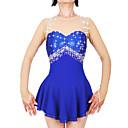 Χαμηλού Κόστους Φόρεμα για παγοδρομία-21Grams Φόρεμα για φιγούρες πατινάζ Γυναικεία Κοριτσίστικα Patinaj Φορέματα Ροζ Γιαν Βιολετί Λευκό Spandex Ελαστικό Νήμα Υψηλή Ελαστικότητα Επαγγελματική Ανταγωνισμός Ενδυμασία πατινάζ Χειροποίητο