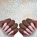billiga Dekaler-1 pcs Klassisk / Bästa kvalitet Glitter Glitter Till Fingernageö Romantisk serie Klassisker Tema nagel konst manikyr Pedikyr Jul / Halloween / Fest / afton Lyx / Aristokrat Lolita