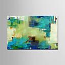 Χαμηλού Κόστους Αφηρημένοι Πίνακες-Hang-ζωγραφισμένα ελαιογραφία Ζωγραφισμένα στο χέρι - Αφηρημένο Μοντέρνα Περιλαμβάνει εσωτερικό πλαίσιο / Επενδυμένο καμβά