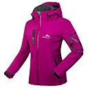 ราคาถูก ชุดกันลม,เสื้อขนแกะ,แจ็กเก็ตสำหรับปีนเขา-Cikrilan สำหรับผู้หญิง Hiking Softshell Jacket กลางแจ้ง ฤดูใบไม้ผลิ / ตก / ฤดูหนาว กันน้ำ, รักษาให้อุ่น, ระบายอากาศ ผ้าขนแกะ เสื้อแจ็คเก็ต / ซอฟท์เชล แจ็คเก็ต / แจ็คเก็ตฤดูหนาว / ซิปกันน้ำ / ยืด