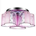 billiga Köksblandare-Lightinthebox 3-Light Takmonterad Glödande Krom Metall LED 110-120V / 220-240V Varmt vit / Vit / E26 / E27
