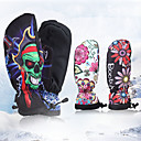 Χαμηλού Κόστους Γάντια-Γάντια για Δραστηριότητες & Αθλήματα Χειμωνιάτικα Γάντια Γάντια του σκι Ανδρικά Γυναικεία Αθλήματα Χιονιού Ολόκληρο το Δάχτυλο Χειμώνας Αδιάβροχη Αντιανεμικό Διατηρείτε Ζεστό Πολυεστέρας Ταφτάς