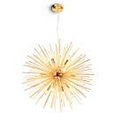 billige Sputnikdesign-moderne globe metall lysekroner fyrverkeri nord-europa vintage stue spisestue anheng lys e12 / e14 pære base