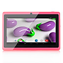 cheap Android Tablets-Q88 7 inch Android Tablet (Android 4.4 1024 x 600 Quad Core 512MB+8GB) / 32 / Mini USB / 3.5mm Earphone Jack