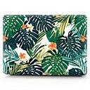baratos Luzes de Foco-escudo da tampa do pvc difícil para macbook pro 15 a1286 flor folha marrom