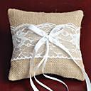 povoljno Jastuk za prstenje-Tekstil Mašnica / Čipka Posteljina ring pillow Monogram Sva doba
