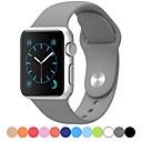 Χαμηλού Κόστους Βάσεις και κάτοχοι Smartwatch-Παρακολουθήστε Band για Apple Watch Series 5/4/3/2/1 Apple Αθλητικό Μπρασελέ σιλικόνη Λουράκι Καρπού