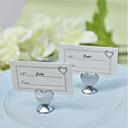 billige Bordkort og holdere-Sinklegering Bryllupskortholder Stående Stil 4 pcs