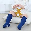 billige Undertøy og sokker til jenter-Baby Jente Aktiv Ensfarget Bomull Undertøy og strømper Navyblå