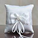 povoljno Jastuk za prstenje-Tekstil Satin Bow Pamuk / Posteljina ring pillow Monogram Sva doba
