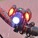 baratos Camisas & Shorts/Calças de Ciclismo-Luzes de Bicicleta Luz Frontal para Bicicleta Farol para Bicicleta Moto Ciclismo Impermeável Super brilhante Portátil Ajustável Bateria Recarregável 500 lm USB Port Campismo / Escursão