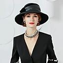 billiga Partyhatt-100% Ull hattar med Rosett 1st Casual / Dagliga kläder Hårbonad