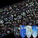 povoljno 3D naljepnica-8 pcs 3D Nail Naljepnice Pahulja nail art Manikura Pedikura Multi Function / Najbolja kvaliteta Moda Dnevno / Festival
