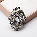 billiga Nålar och broscher-Dam Broscher Klassisk Ljuv Mode Elegant Brosch Smycken Silvergrå Till Bröllop Party