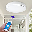 Χαμηλού Κόστους Έξυπνα φώτα-σύγχρονη wifi οδήγησε φώτα οροφής οροφής οροφής ελέγχου φωτιστικό για σαλόνι οικογενειακό φωτισμό σπίτι ac110-240v