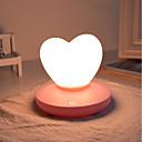 Χαμηλού Κόστους Φώτα διακόσμησης και γκάτζετ-1pc LOVE Νυχτικό φως νυχτών Τρίχρωμη σημαία USB Για παιδιά / Επαναφορτιζόμενο / Με ροοστάτη 5 V