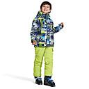 Χαμηλού Κόστους Ρούχα για σκι, σνόουμπορντ-Wild Snow Αγορίστικα Κοριτσίστικα Μπουφάν και παντελόνι για σκι Σκι Πολυάθλημα Αθλήματα Χιονιού Αντιανεμικό Ζεστό Αερισμός Πολυεστέρας Δίχτυ Ρούχα σύνολα Ενδυμασία σκι / Χειμώνας