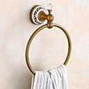 billige Håndklestenger-Håndklestang Nytt Design / Kul Antikk Messing 1pc håndkle ring Vægmonteret