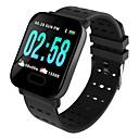 povoljno Baterijske svjetiljke-Indear M20/A6 Muškarci Smart Narukvica Android iOS Bluetooth Sportske Vodootporno Heart Rate Monitor Mjerenje krvnog tlaka Ekran na dodir Brojač koraka Podsjetnik za pozive Mjerač aktivnosti Mjera