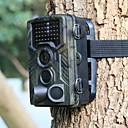 olcso Vadász pehelykabátok, pulóverek és mellények-Vadászat Trail Camera / cserkészet Camera 16 MP 1080 pixel Night vision 120 ° érzékelési tartomány 2 inch LCD 42db IR LED-ek Kempingezés / Túrázás / Barlangászat Vadászat Vadvilág 850 nm 3.1 mm 1080P