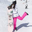 ราคาถูก รองเท้าสโนว์บูตปีนเขา-ARCTIC QUEEN สำหรับผู้หญิง Ski Jacket & Pants กันลม Warm หน้ากากสกี Skiing แคมป์ปิ้ง & การปีนเขา Snowboarding POLY เป็นมิตรต่อสิ่งแวดล้อม โพลีเอสเตอร์ กางเกง กางเกงนอนหิมะ Tops Ski Wear / ฤดูหนาว