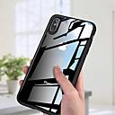 billiga Mössor, kepsar och snusnäsdukar-fodral Till Apple iPhone XS / iPhone XR / iPhone XS Max Ultratunt / Genomskinlig Skal Enfärgad Hårt Akrylfiber