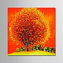 povoljno Slike za cvjetnim/biljnim motivima-Hang oslikana uljanim bojama Ručno oslikana - Cvjetni / Botanički Moderna Bez unutrašnje Frame / Valjani platno