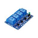 billiga Moduler-fyrvägsrelä -5v blå