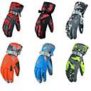 Χαμηλού Κόστους Γάντια-Χειμωνιάτικα Γάντια Γάντια του σκι Ανδρικά Γυναικεία Αθλήματα Χιονιού Ολόκληρο το Δάχτυλο Χειμώνας Αδιάβροχη Αντιανεμικό Αναπνέει Βαμβακερό / Πολυεστέρας PU Σκι Αθλήματα Χιονιού