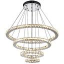 billige Lysekroner-Anheng Lys Omgivelseslys galvanisert Metall Krystall, LED 110-120V / 220-240V Varm Hvit / Kald Hvit LED lyskilde inkludert / Integrert LED