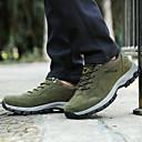 Χαμηλού Κόστους Αντρικά Αθλητικά Παπούτσια-Ανδρικά Παπούτσια άνεσης PU Φθινόπωρο Αθλητικό Αθλητικά Παπούτσια Πεζοπορία Μη ολίσθηση Γκρίζο / Καφέ / Πράσινο Χακί