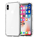 billige iPhone-etuier-Etui Til Apple iPhone XS / iPhone XR / iPhone XS Max Stødsikker / Transparent Bagcover Ensfarvet Blødt TPU