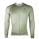 ราคาถูก ภาพวาดแอบสแตรก-ILPALADINO สำหรับผู้ชาย แขนยาว Cycling Jersey สีดำ จักรยาน เสื้อยืด Tops ขี่จักรยานปีนเขา Road Cycling รักษาให้อุ่น ผ้าซับในขนสัตว์ Ultraviolet Resistant กีฬา ฤดูหนาว Elastane ผ้าขนแกะ เสื้อผ้าถัก