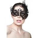 ราคาถูก ชุด-หน้ากาก Venetian Masquerade Mask คาร์นิวัลมาส์ก แรงบันดาลใจจาก เจ้าหญิง ชาวเมืองเวนิส สีดำ ทอง วันฮาโลวีน วันคริสต์มาส วันฮาโลวีน เสื้อผ้าที่สวมไปงานเต้นรำสวมหน้ากาก ผู้ใหญ่ สำหรับผู้หญิง