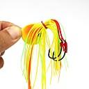billiga Fiskbeten och flugor-1 pcs Jiggar Fiskbete Pimplar Lätt att använda Sjunker Bass Forell Gädda Sjöfiske Flugfiske Kastfiske Bly / Isfiske / Spinnfiske / Jiggfiske / Färskvatten Fiske / Karpfiske