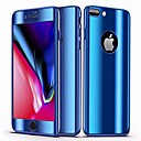 ราคาถูก เคสสำหรับ iPhone-Case สำหรับ Apple iPhone 8 Plus / iPhone 7 Plus Mirror / Ultra-thin ตัวกระเป๋าเต็ม สีพื้น Hard พีซี